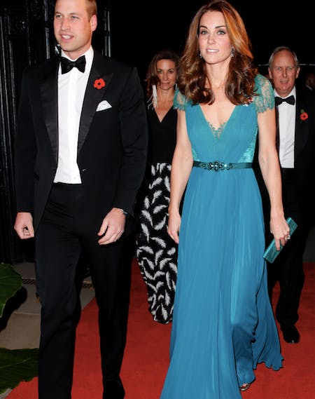 Kate Middleton Prince William Tusk Gala1