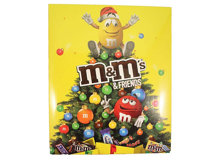 MM Friends Advent Calendar for kids