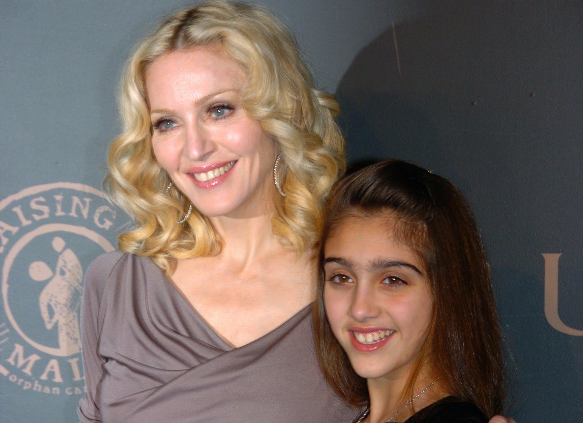Lourdes Leon Channels Mom Madonna In Sheer White Dress Purewow