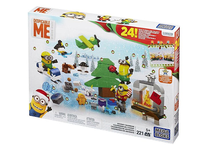 Mega Bloks Minions Movie Advent Calendar for kids
