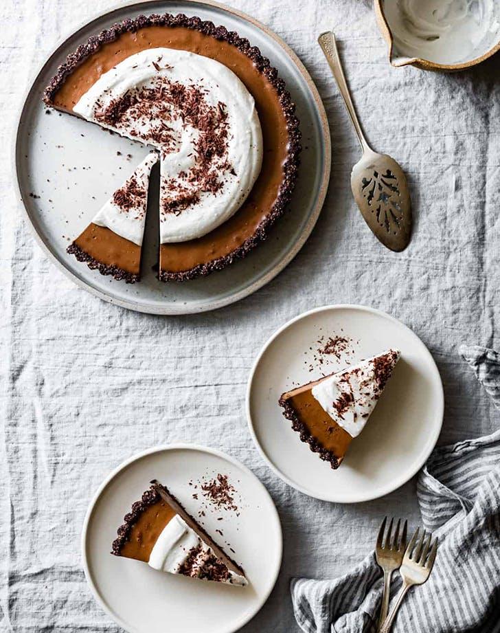 No Bake Chocolate Cream Tart recipe