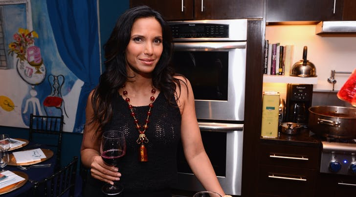 Padma Lakshmi's Genius (& Easy) Way to Relax Before Hosting a Party