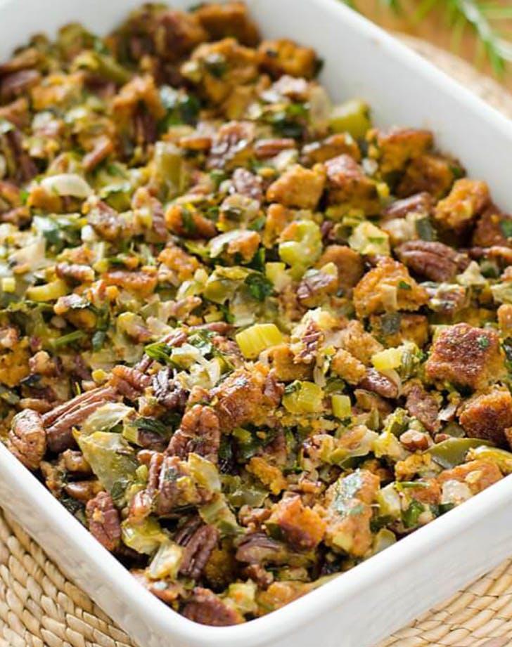 Paleo Cornbread Stuffing recipe