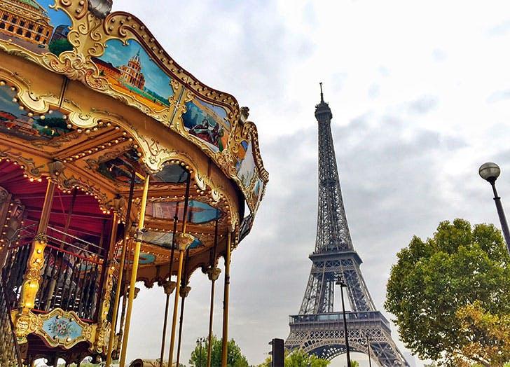 Paris France Carousel