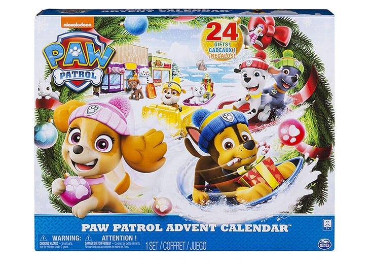 Paw Patrol advent calendar for kids