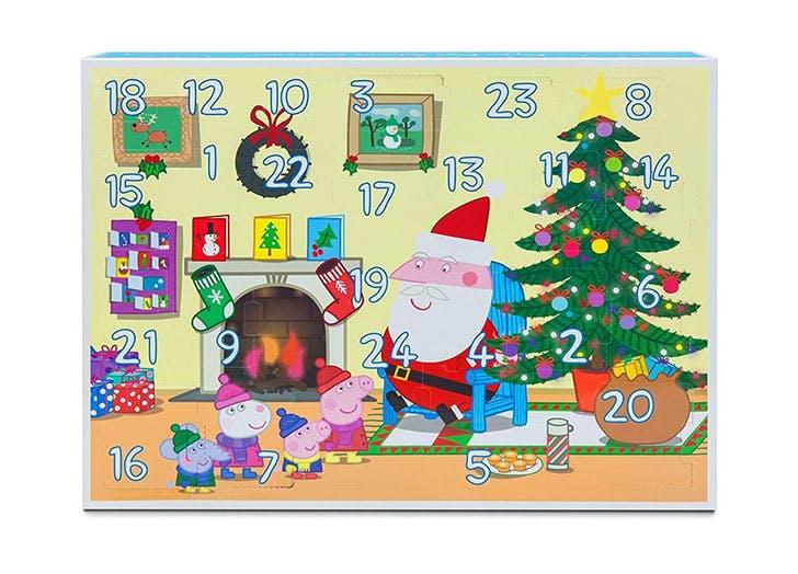 Peppa Pig Santa Workshop Advent Calendar for kids