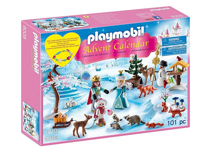 Playmobil Advent Calendar Royal Ice Skating Trip for kids
