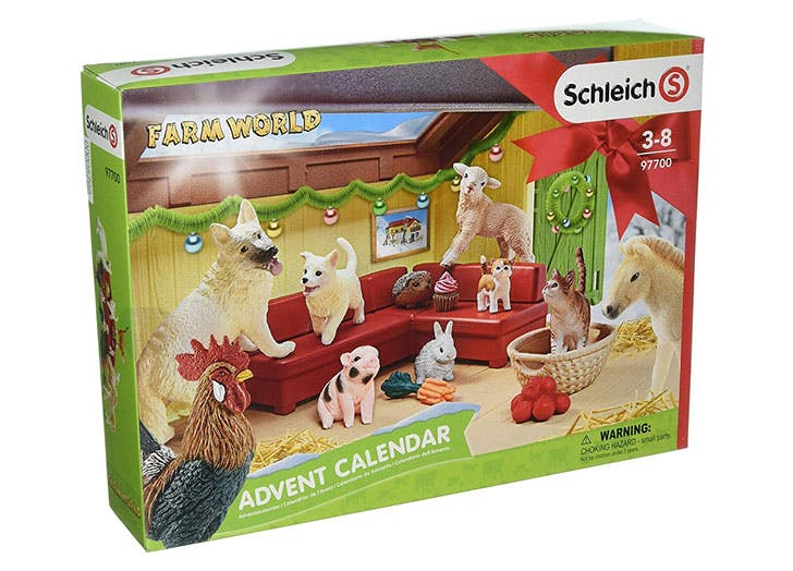 Schleich Farm World Advent Calendar for kids