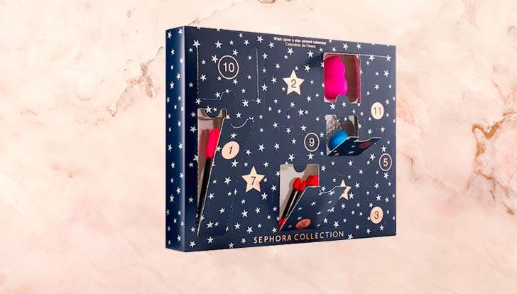 the 6 best beauty advent calendars for 2018 purewow. Black Bedroom Furniture Sets. Home Design Ideas