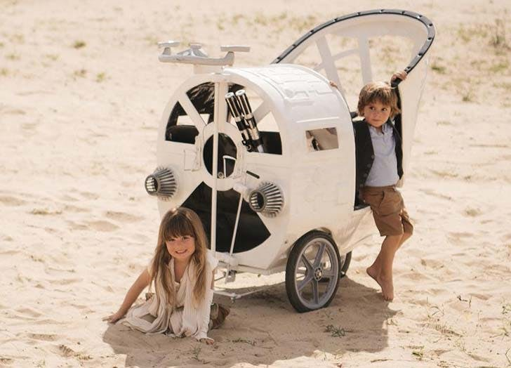 Spaceship Star Wars stroller