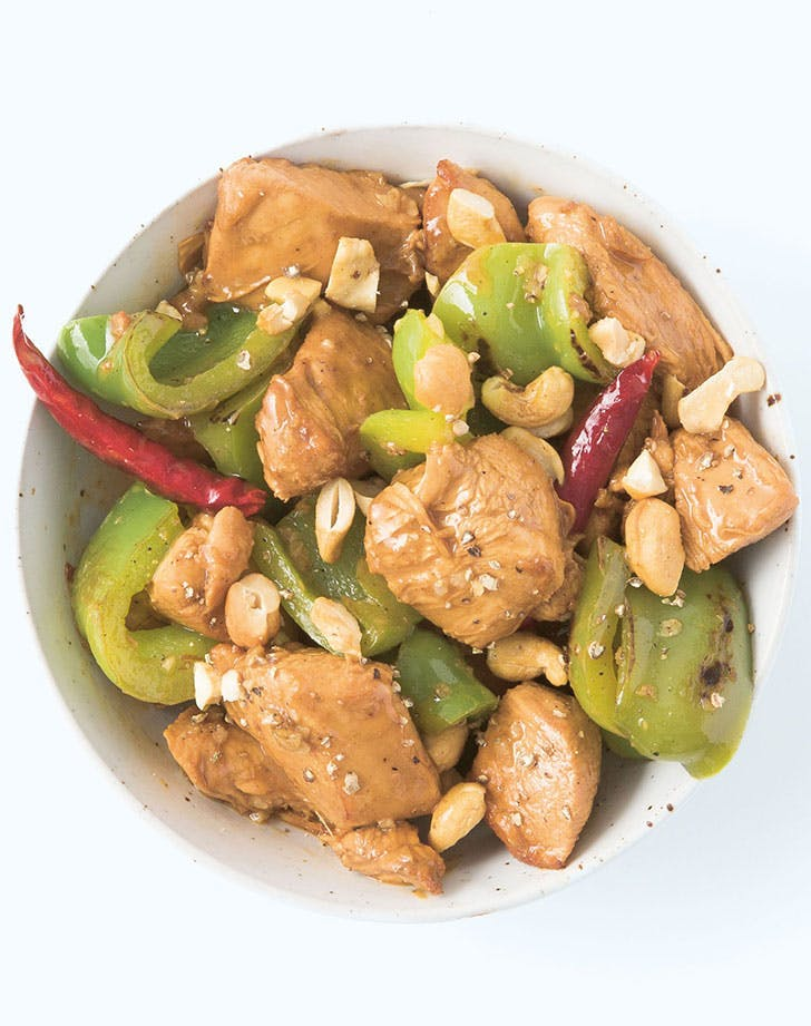 Stir Fry Kung Pao Chicken recipe