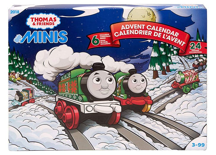 Thomas and Friends Advent Calendar for kids