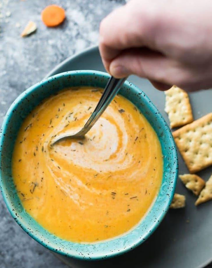 Vegan Carrot and Ginger Soup recipe