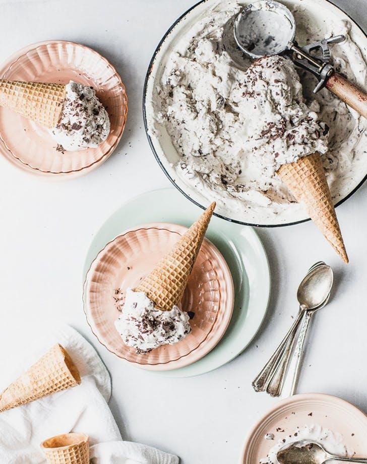 Vegan Mint Chip Nice Cream recipe