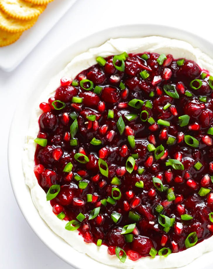 Very Merry Cranberry Cream Cheese Dip recipe
