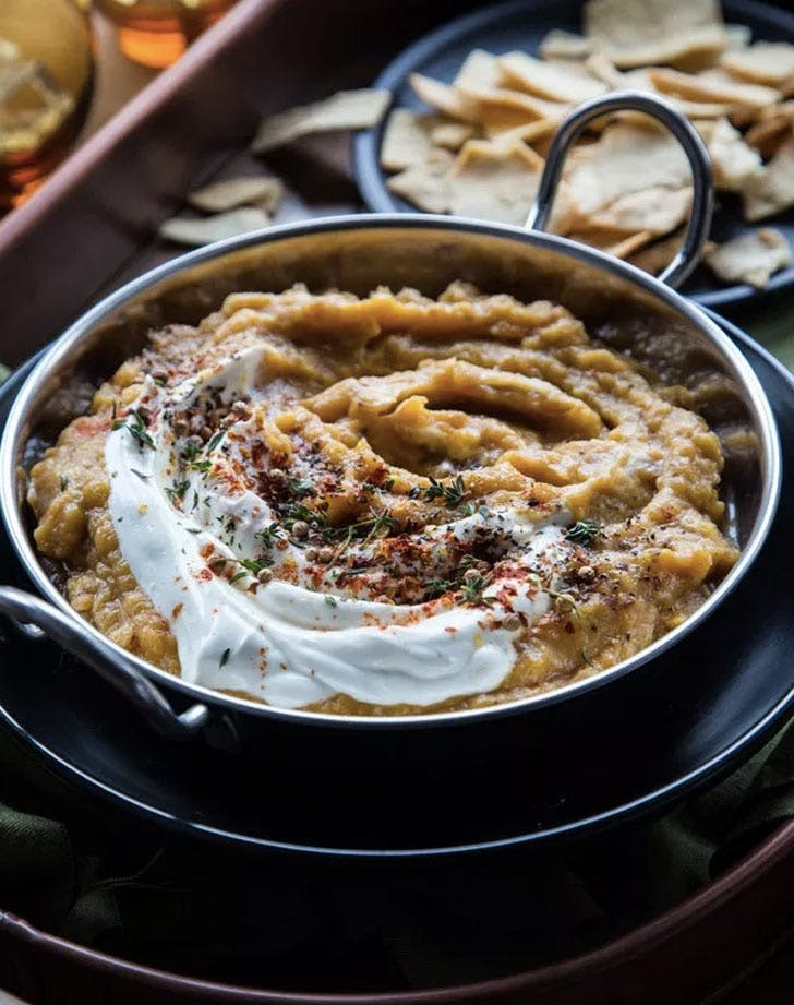 acorn squash carmelized onion dip christmas appetizers