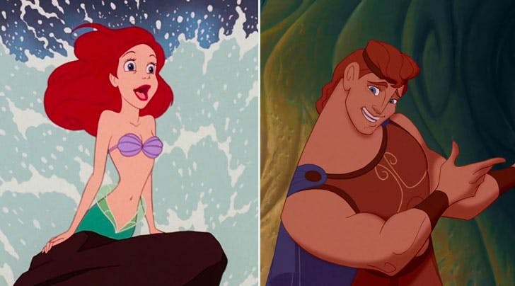 Theres a Genius Theory Connecting 'The Little Mermaid and 'Hercules, and Its Actually True