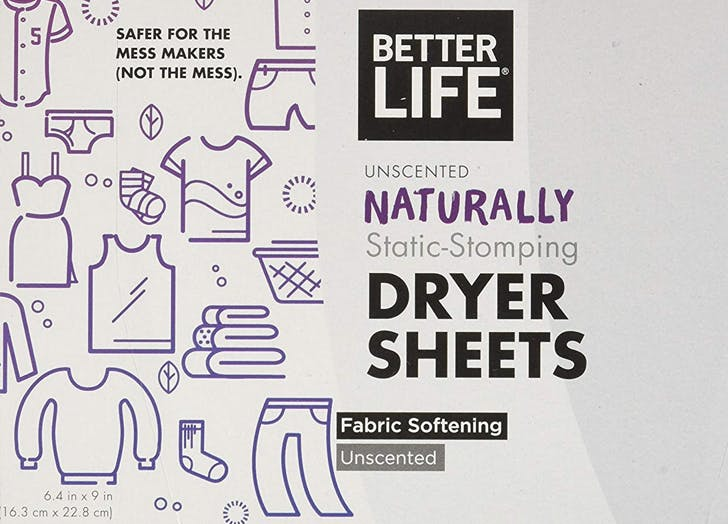 better life pet safe dryer sheets