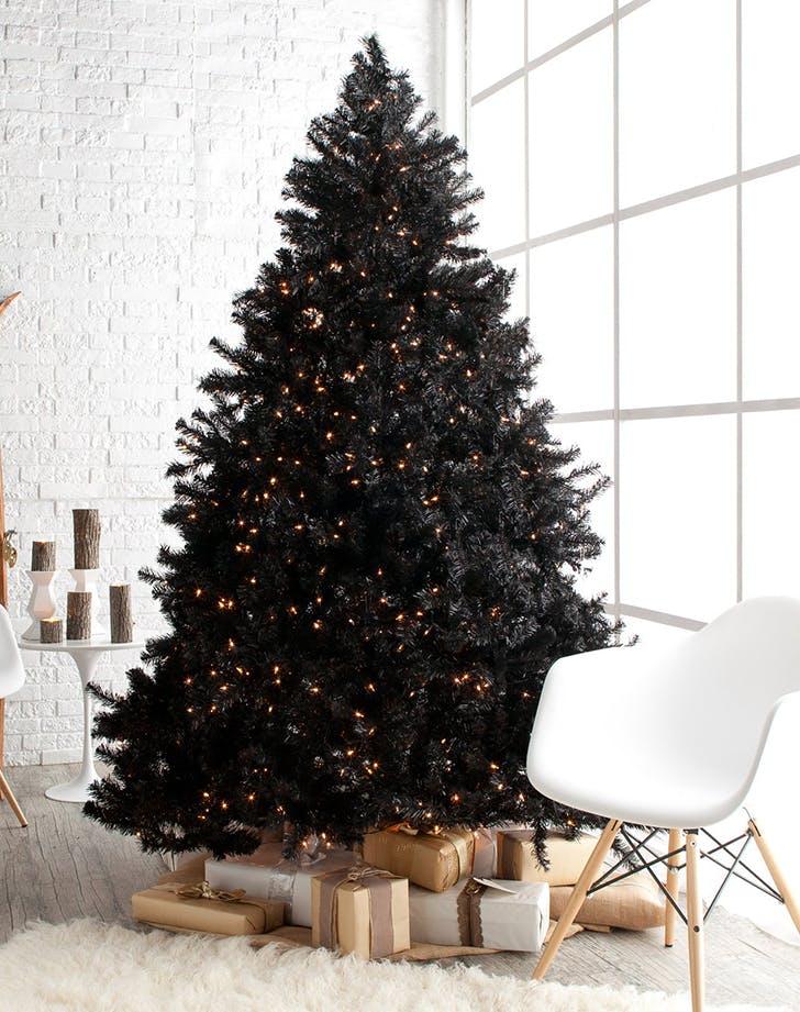 black xmas tree 1
