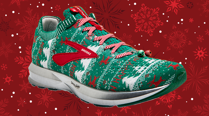 Ugly Holiday Sweater Sneakers