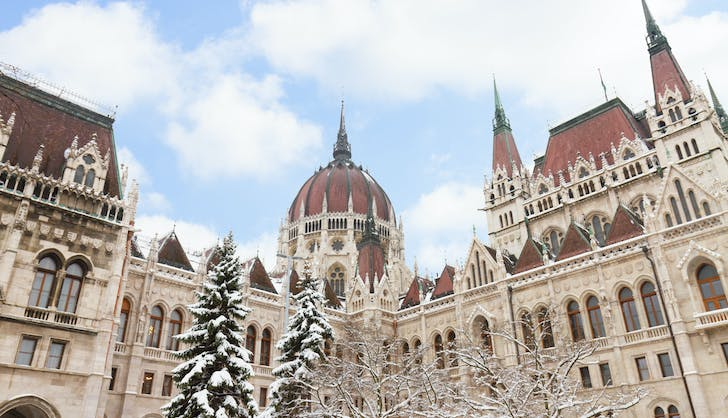 budapest hungary in winter