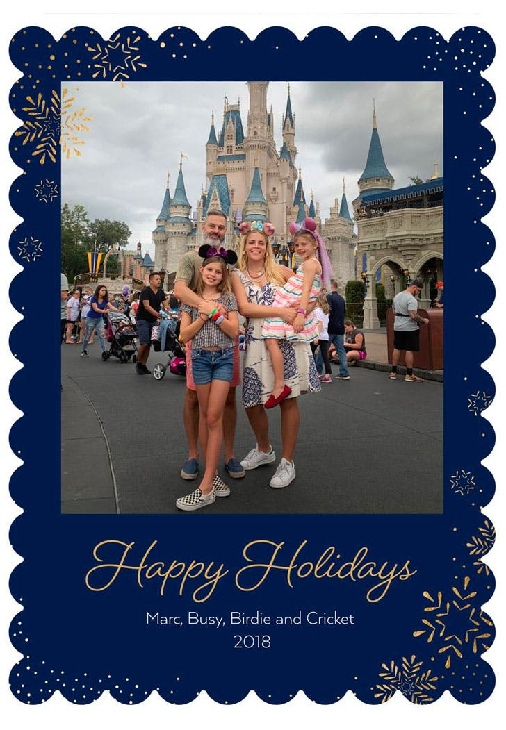 busy philipps christmas card