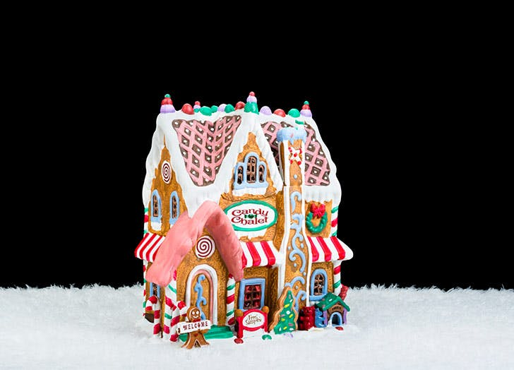 candy shop business gingerbread house