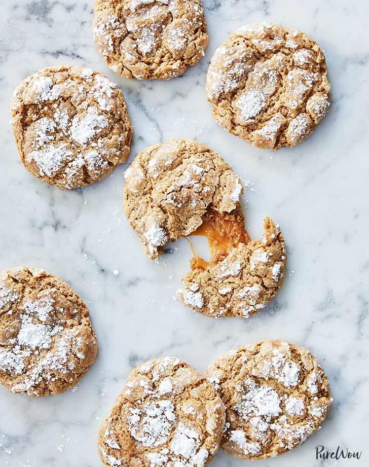caramel stuffed gingerbread cookies 921