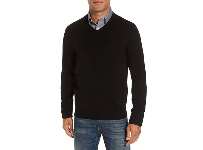 cashmere v neck