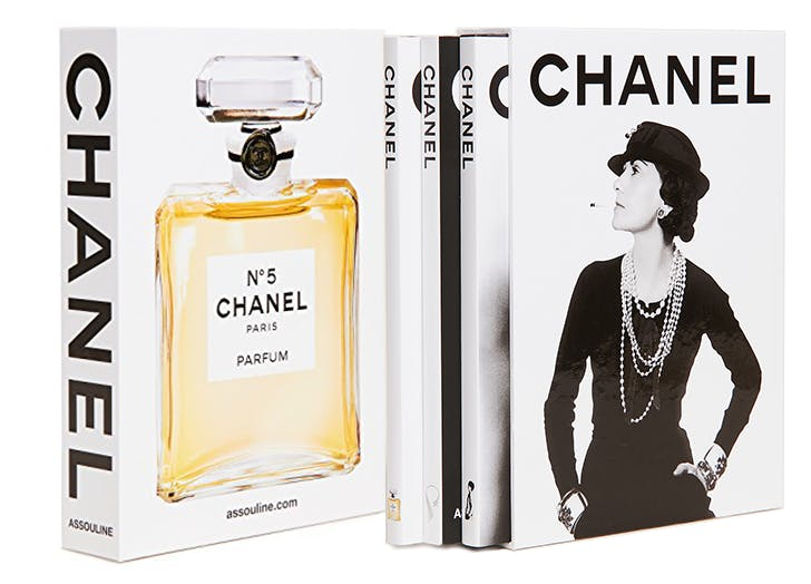 chanel coffee table book set