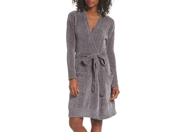 chenile robe