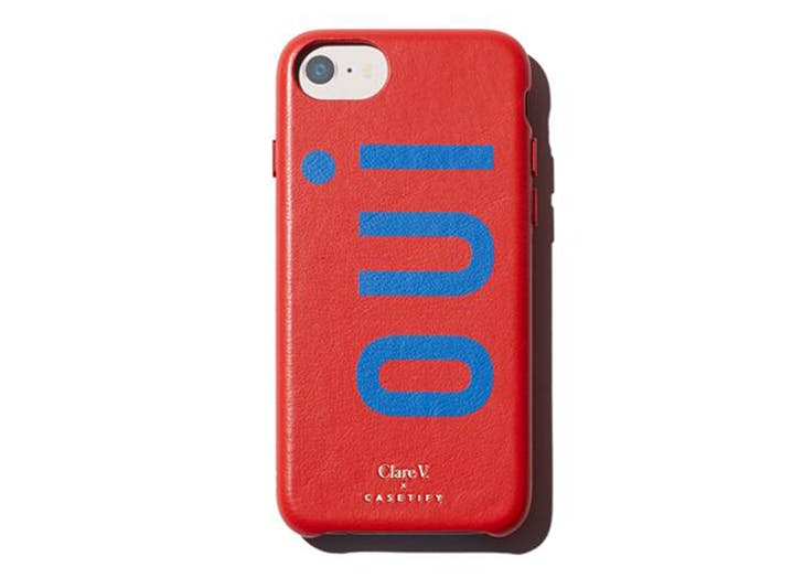 clare v oui red and blue phone case
