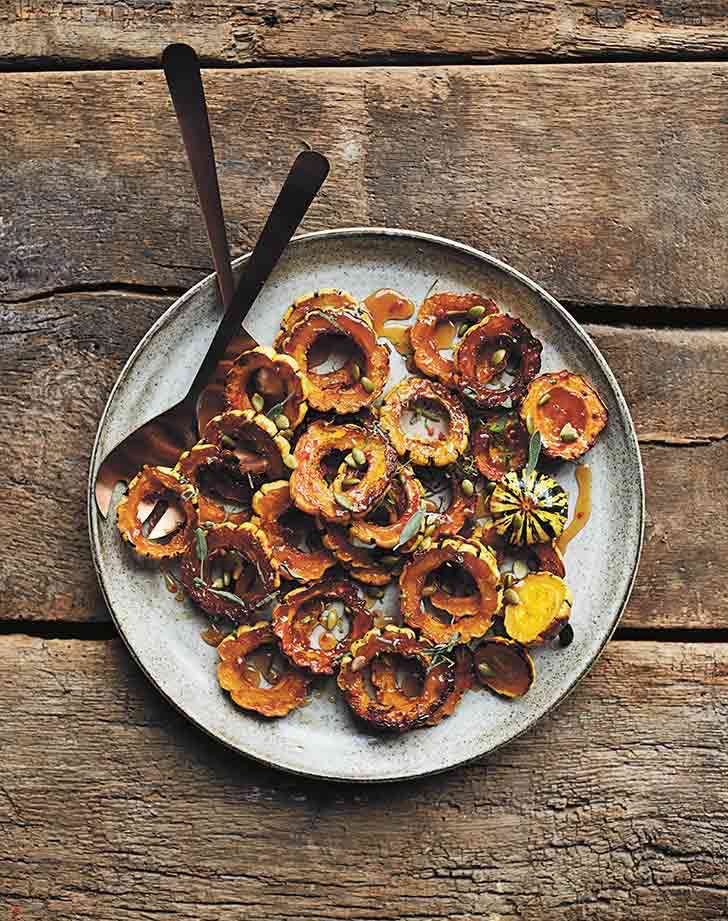 cook beautiful delicata squash recipe