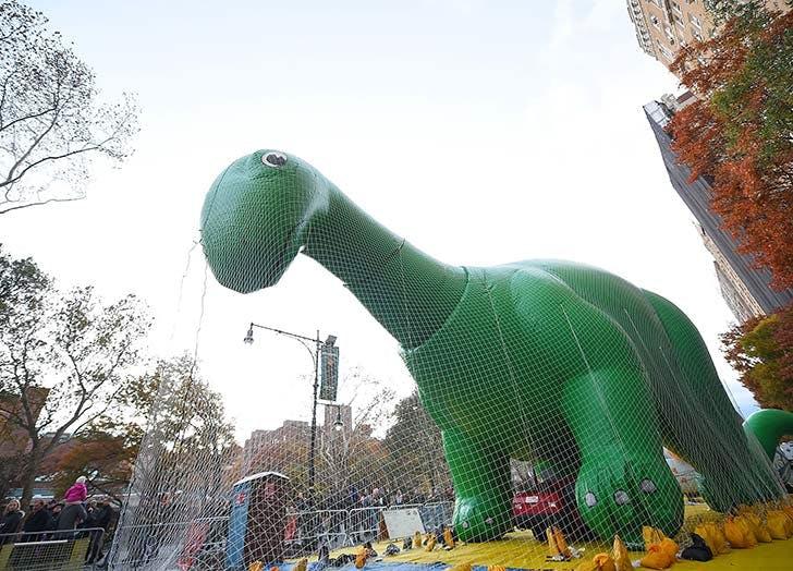 dinosaur thanksgiving balloon