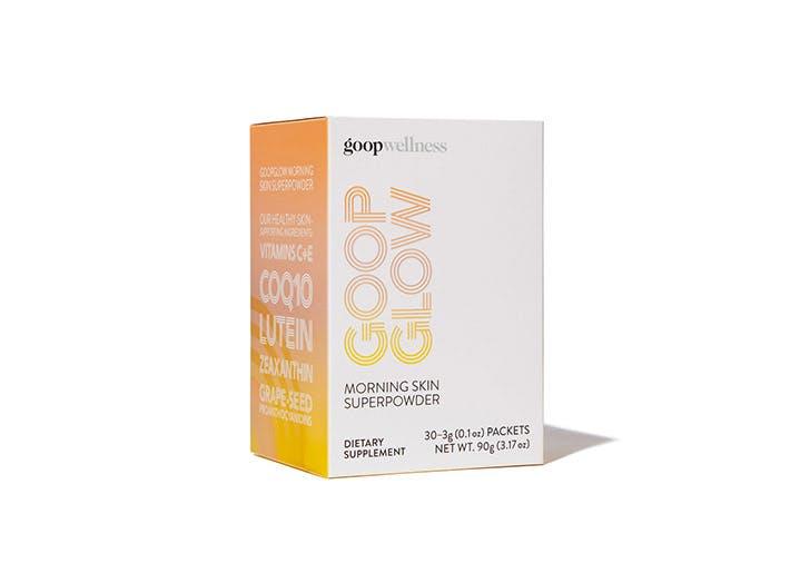 goopglow morning skin superpowder packets