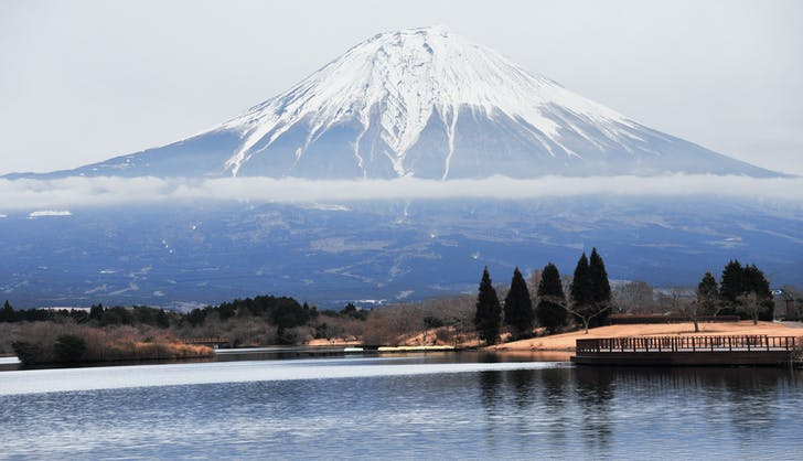 hakone japan in winter