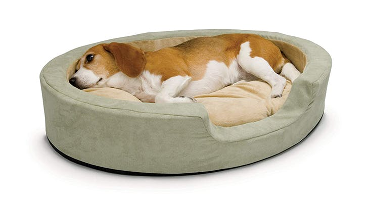 Your Pet Called: He Wants This Ridiculously Cozy Heated Doggie Bed