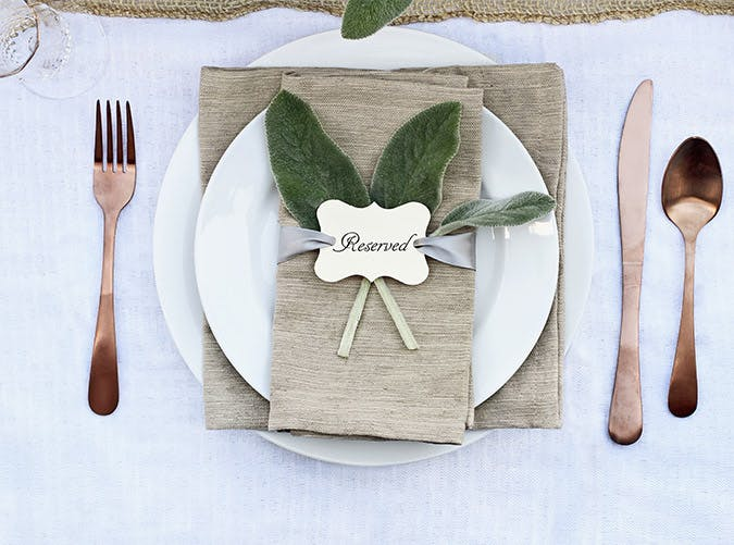 holiday decorations placecards