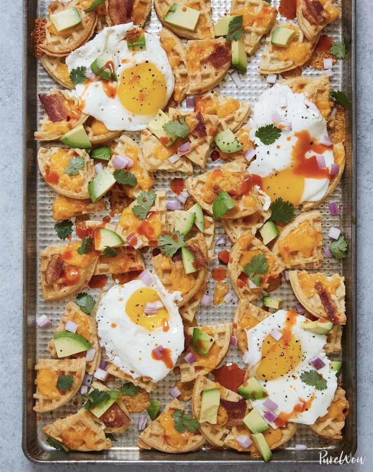 holiday breakfast nachos