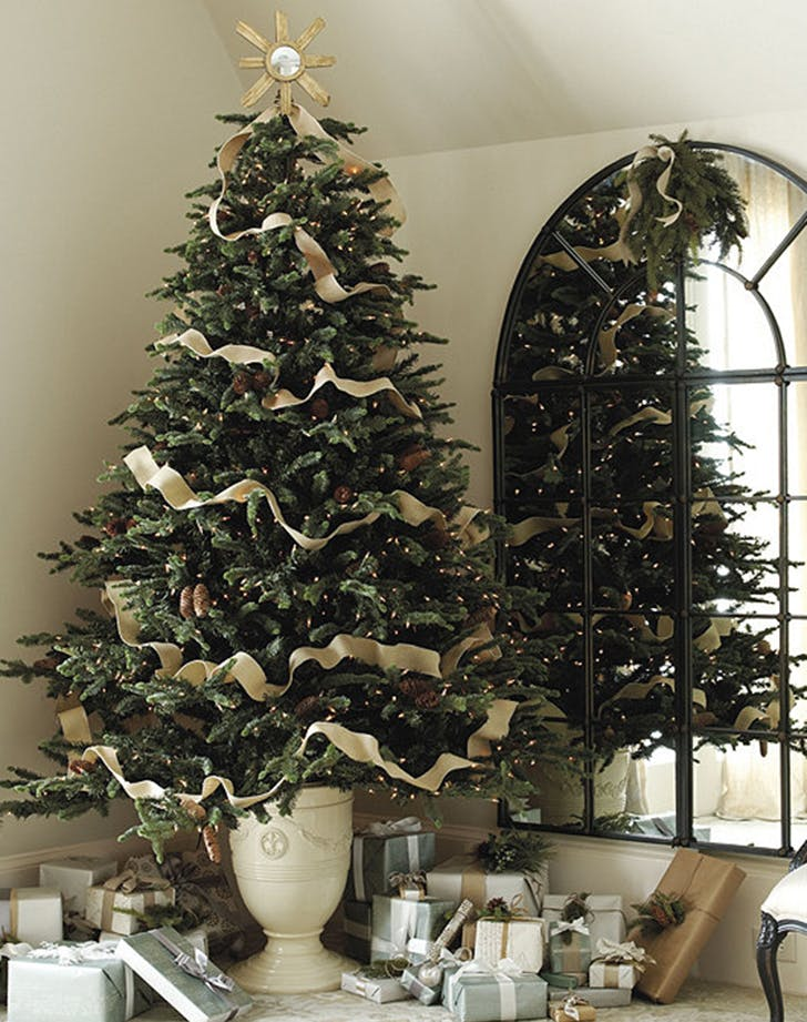 holiday decor treeurn