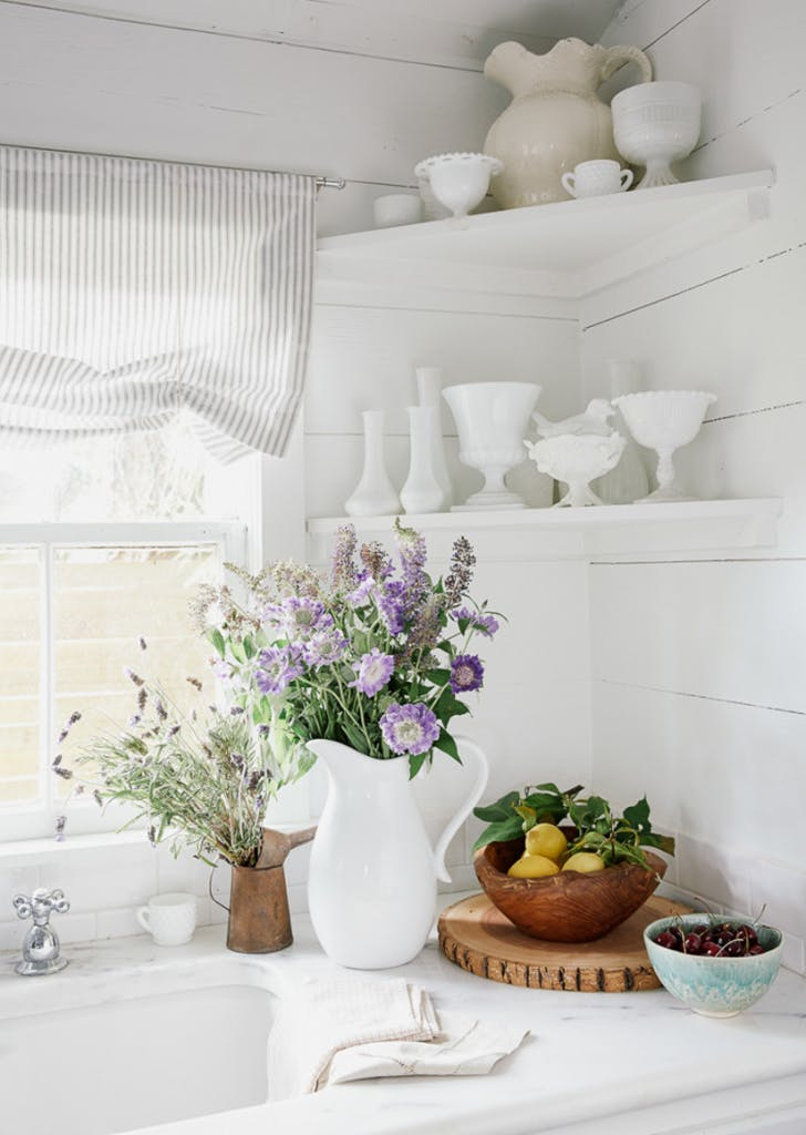 homepolish room lavender kitchen