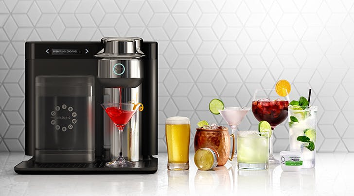 This Machine Is Like a Keurig for Cocktails (and It Even Brews Beer)