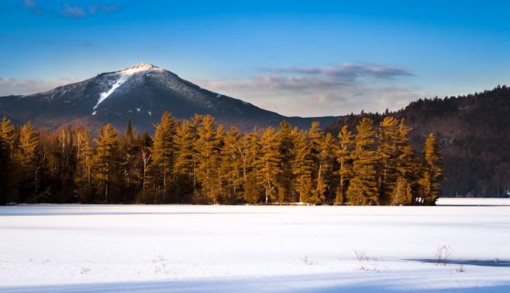 lake placid new york in winter