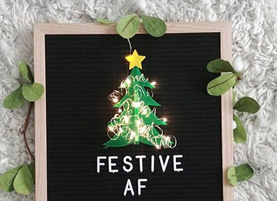 letterboard holiday decor 400