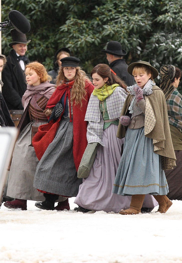 little women march sisters emma watson