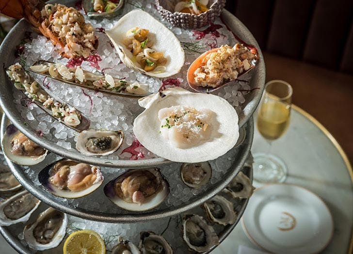 maison premiere seafood tower