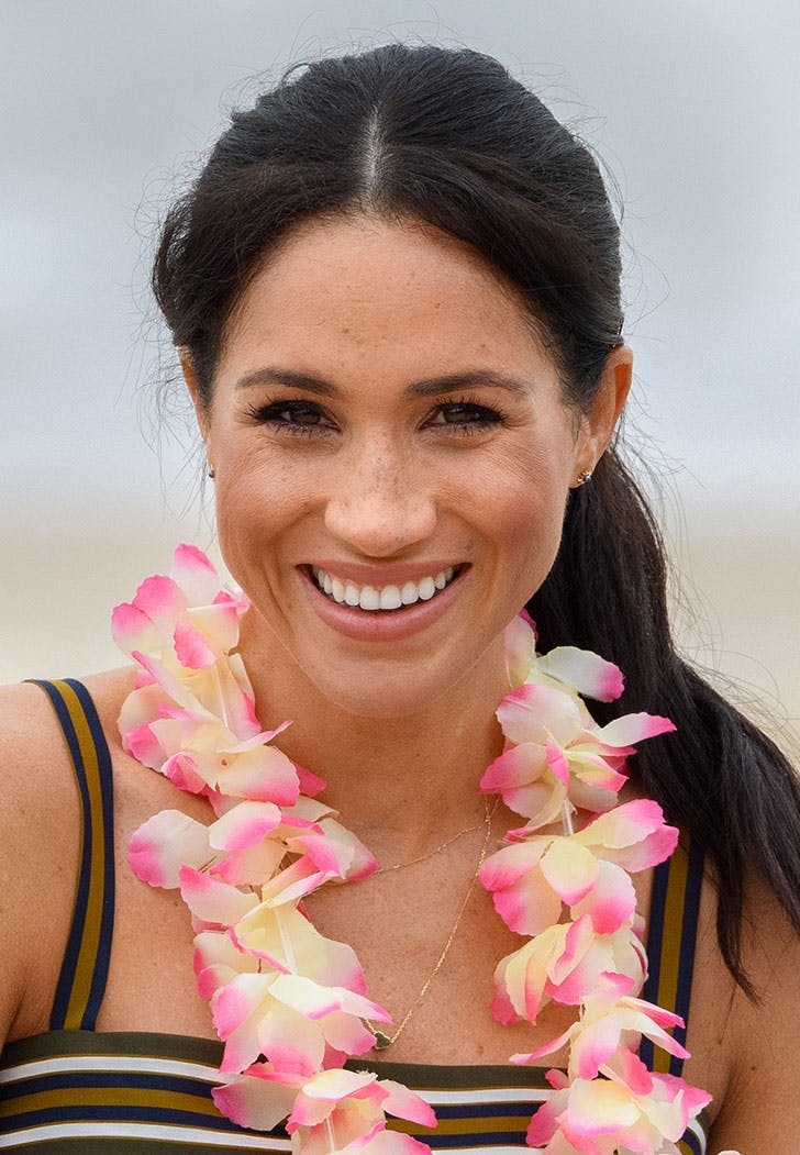 meghan markle royal tour no makeup