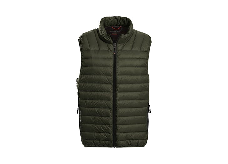 mens packable puffer vest