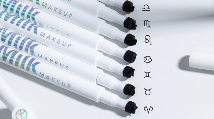 Milk Makeup's Zodiac-Themed Tattoo Stamps Let You Wear Your Sign…on Your Face