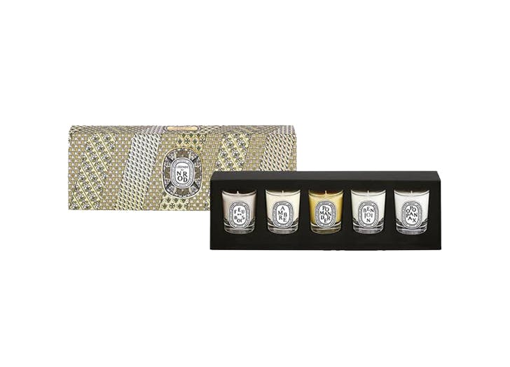 mini diptyque candle set